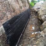 Izolacja bitumiczna fundamentów murowych
