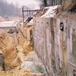 Kotwienie ściany oporowej