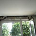 Wzmocnienie nadproża okiennego